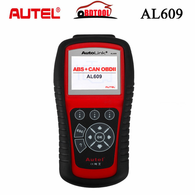 2019 New Arrival Best Autel AutoLink AL609 ABS CAN OBDII Diagnostic Tool Diagnoses ABS System Codes AL 609 Internet Updatable