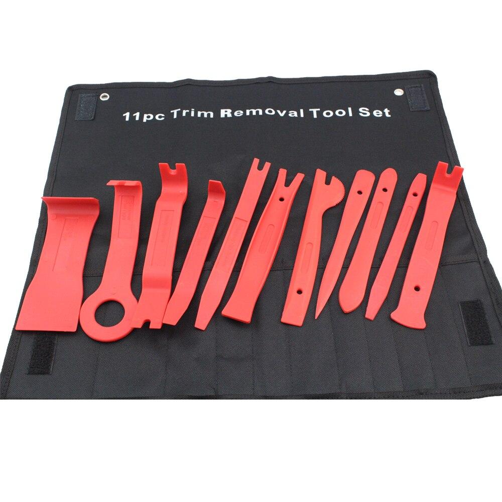 11PC Panel Trim Removal Tool Set Handy Remover Set and Radio Repair Tool