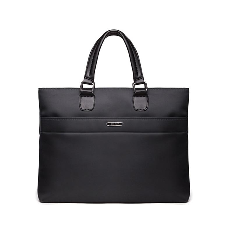 New Luxury Nylon Business Men's Briefcase Male Fashion Shoulder Bag Men Messenger Bag Boy Casual Tote Computer Crossbody Bag