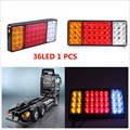 1pcs Waterproof 36 LED Taillight 12V Trailer Truck Rear Tail light Lamps For Chevy GMC Trailer Truck Car-Styling Warning Light