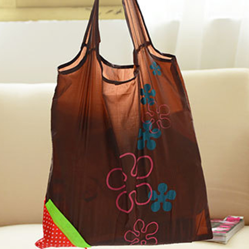 Eco Shopping Travel Shoulder Bag Pouch Tote Handbag Folding Reusable Bags L
