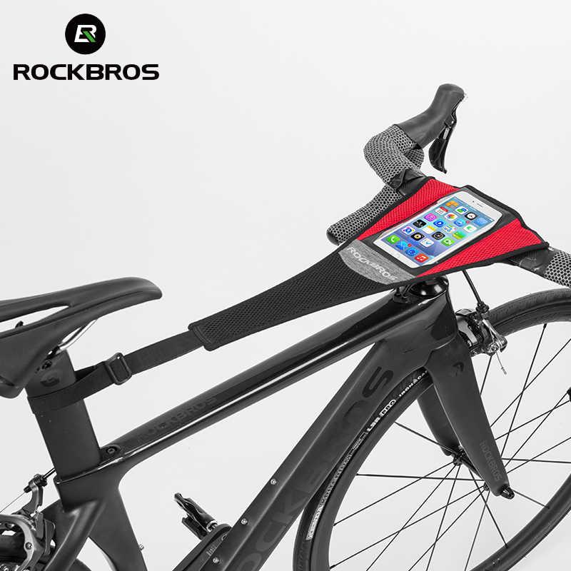 RockBros Road Bike Bicycle Trainer Sweat Net Sweatband Sweatproof Tape Strap B