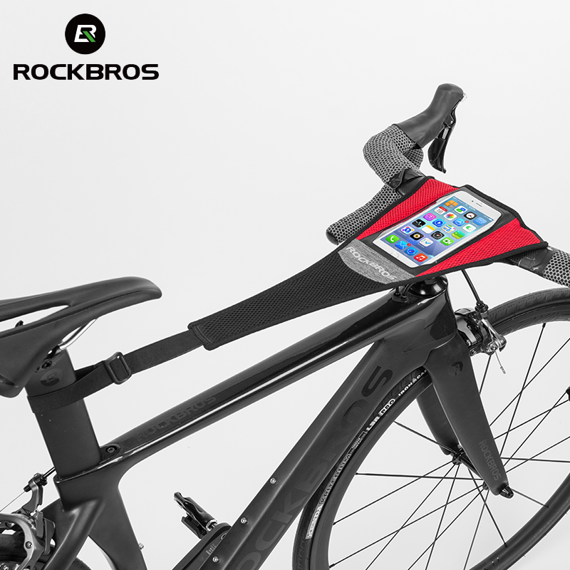 ROCKBROS Cycling Bike Bicycle Sweatband Trainer Sweat Net Bike Sweat Training Tape Frame Protection Bicycle Accessories