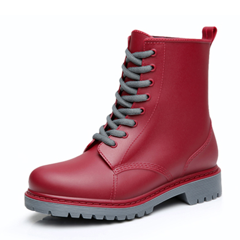 Ladies Waterproof Lace Up Shoes