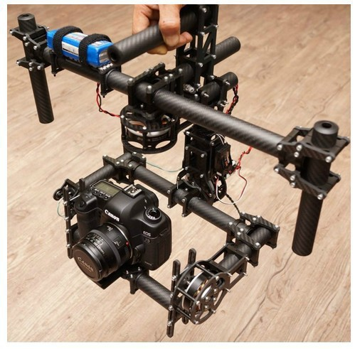 FPV DYS DSLR 3 axis Brushless Gimbal /handle camera gimbal with new 180T motor цена