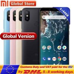Global Version Original Xiaomi Mi A2 64GB ROM Smartphone 4GB RAM Dual 20.0MP Snapdragon 660 Octa Core 3010mAh 5.99