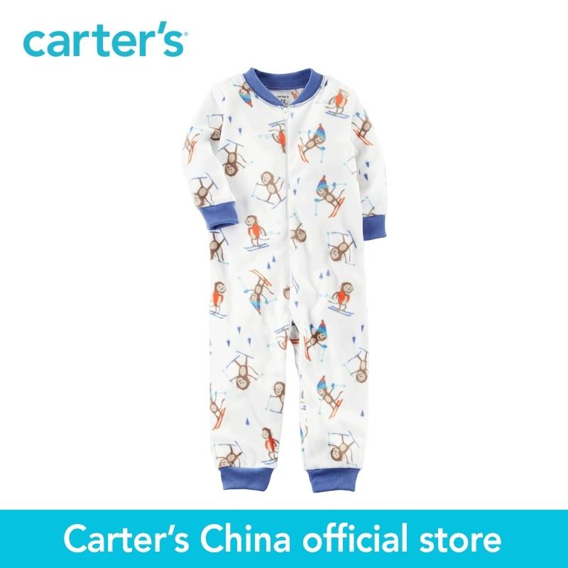 Carter S 1pcs Baby Children Kids 1 Piece Footless Fleece