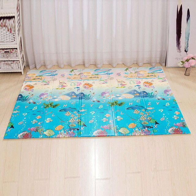 Baby Play Mat Xpe Puzzle Children's Mat Thickened Infantil Pad Folding Mat Baby Carpet Soft Floor Crawling Kids Educational Toys