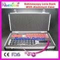 E03-7 оптометрия оптическая ретиноскопия объектив стойки флиппер совета объектива упакован алюминиевый чехол бесплатная доставка