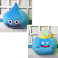New Arrival gigantic 55CM Dragon Quest Smile Slime Plush Doll Plush Toy Doll Birthday New Year Gift Collection Soft pillow