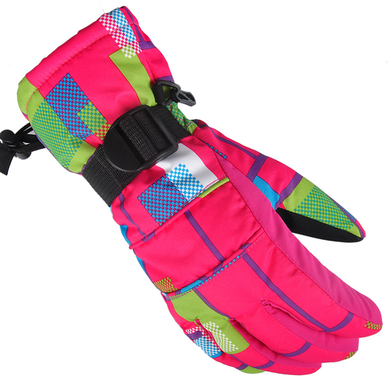 Ski-Gloves Padded Riding Outdoor Waterproof Winter The for Men And Women Adult Thick