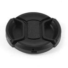 Common 46mm Heart Pinch Entrance Lens Cap for DSLR Digital camera