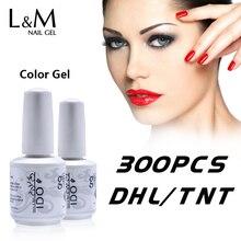 300 Pcs DHL 5 8days מהיר חינם עידו ג ל לק נמוך מחיר באיכות גבוהה UV מנורת ספקים מפעל סיטונאי 290 צבעים