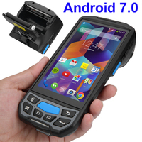 Industrial Rugged Handheld Data Collector Wireless 4G Mobile Data Terminal 1D barcode / 2D Qr code Scanner Android PDA Device