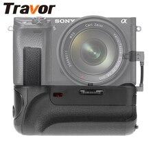 TRAVOR Батарейные ручки с ИК Функция кабельный разъем для Sony Alpha A6000 Камера