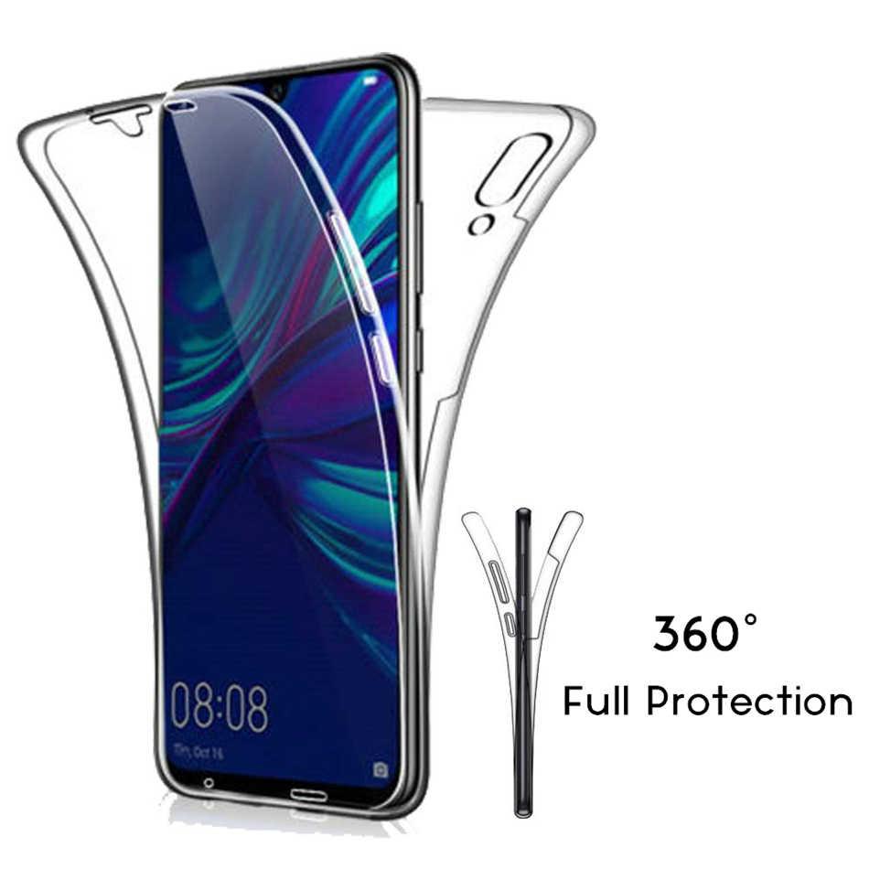 יוקרה רך 360 מלא כיסוי עבור Huawei P30 P20 P10 P9 לייט Mate 20 10 פרו P חכם 2019 מקרה קריסטל נקה סיליקון TPU ג 'ל כיסוי