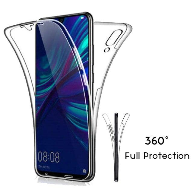 Sang trọng Mềm 360 Bao Gồm Đầy Đủ cho Huawei P30 P20 P10 P9 Lite Đời 20 10 Pro P Thông Minh 2019 Trường Hợp pha lê Rõ Ràng Silicone TPU Gel Bìa