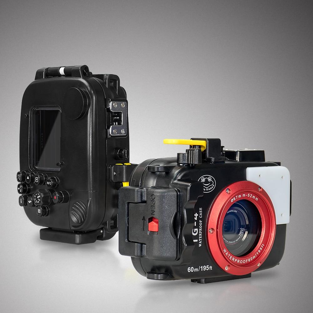 For Olympus TG4 Camera Underwater Housing Case Waterproof Diving Bag Shooting PC Equipment water resistance box (4)