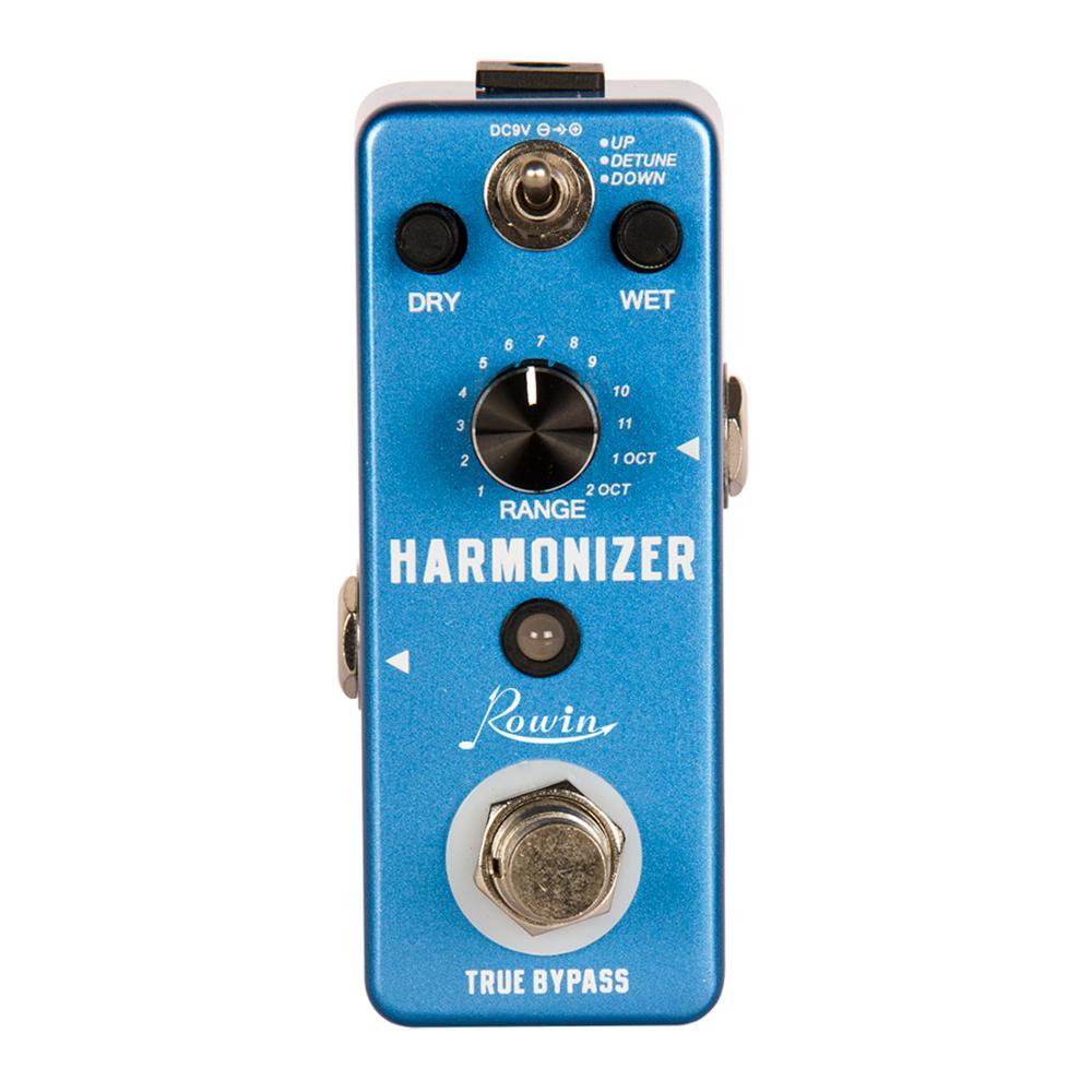 Rowin LEF-3807 pédale d'harmoniseur de guitare pédale d'effet de pas numérique Signal Original pour créer l'harmonie/décalage