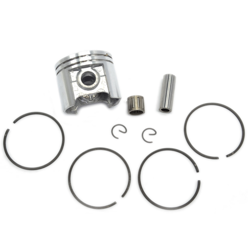 MS250 Chainsaw Piston Kit with Piston Rings Needle Bearing fit Stihl Chain Saw Repalce Parts 1123 030 2016 piston assembly 34mm fits zenoah chain saw g2500 2500 free shipping 25cc chainsaw piston kit komatsu chain saw parts