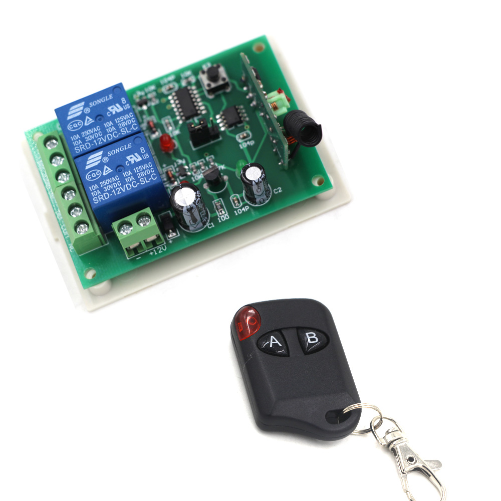 DC 12V 24V Wireless Remote Control Switch 2CH Lighting Switches Remote ON OFF Light Lamp SMD Power Remote Switch System miti 12v 1ch 10a wireless remote control dc light switch system lamp led smd on off with case sku 5415