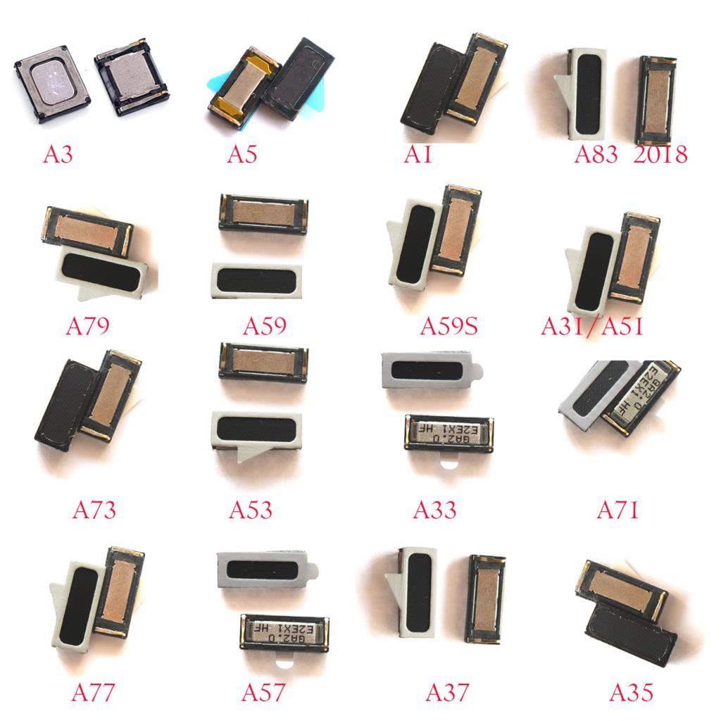 2pcs Earpiece Recevier Speaker For Oppo A3 A5 A1 A3S/A83 A73 A53 A33 /A79 A58 A59s /A37 A57 A77/A31 A51 A71