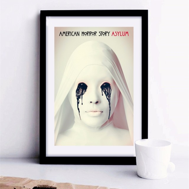 American Horror Story Tv Canvas Art Print Painting Poster Wall