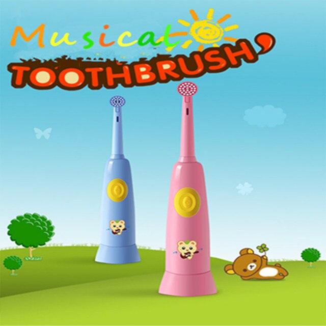 Funciona con pilas del cepillo de dientes eléctrico de la vibración cepillo  de dientes musical para 1966eaeba8fe
