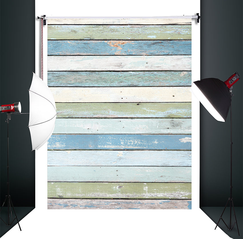 HUAYI wood plank  Photography Backdrop Scenery Custom Photo Portrait Studios  Background board backdrop D-8299