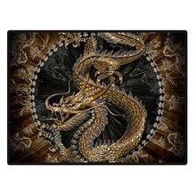 5D DIY Diamond Painting Kit Embroidery Mosaics Rhinestone Cross Stitch Wall Decor Home Craft Chinese Golden Dragon