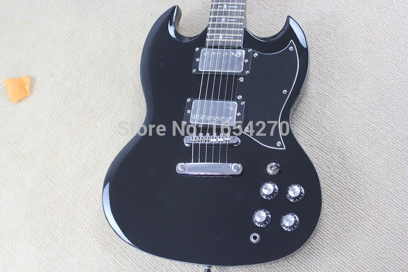 Wholesale - hot High Quality new style Angus Young SG Electric Guitar Aged Cherry 100% Mint Unplayed OHSC! .