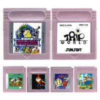 16 Bit Video Game Cartridge Console Card AVG Adventure Game Series English Language Edition(China)