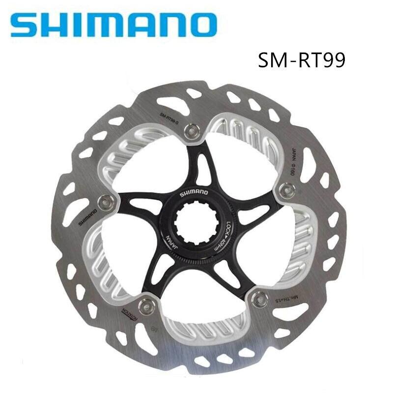 Shimano Saint/XTR RT99A 140mm RT99 160 m 180mm 203mm Glace-Tech Centerlock IceTech Disque de frein Rotor