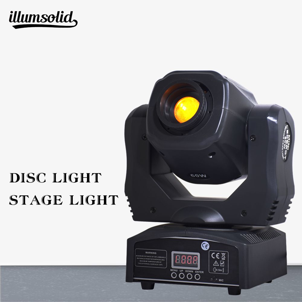 1 pieces/lot moving head 60w led gobos lighs 60 W LED DJ Spot Light1 pieces/lot moving head 60w led gobos lighs 60 W LED DJ Spot Light