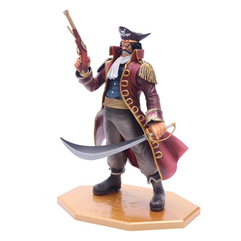 One Piece Gold Roger Gol D Roger Pirate King MH DX Anime PVC Figure Ace Father King Of The Pirates Collection Toy Gift Model