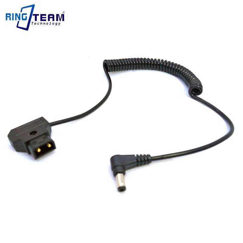 В-out+ штекер PTap DTap мощность D-Tap до 5,5*2,5 мм DC Прямоугольный штекер спиральный растягивающийся кабель для ламп sony светильник