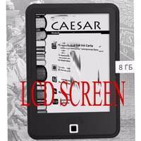 6 inch E Ink With light without touch screen For ONYX BOOX CARSAR eReader E book reader LCDDisplay