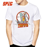 Männer T-Shirt Ich bin Mr Meeseeks Schau mich an!! Rick Und Morty T-shirt Baumwolle Kurzarm T-shirt Heißer Verkauf Männer Weiß Einfache Tops
