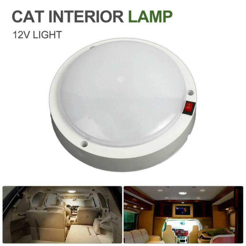 Warm Light Car Interior Lighting Led Recessed Down Light Interior Roof Ceiling Light Cabinet Lamp For Rv Trailer Boat Van