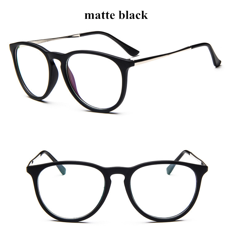 45b9c4a1b8 Details about New Keyhole Clear Lens Fashion Retro Glasses Slim Frame  Women s Mens Oval