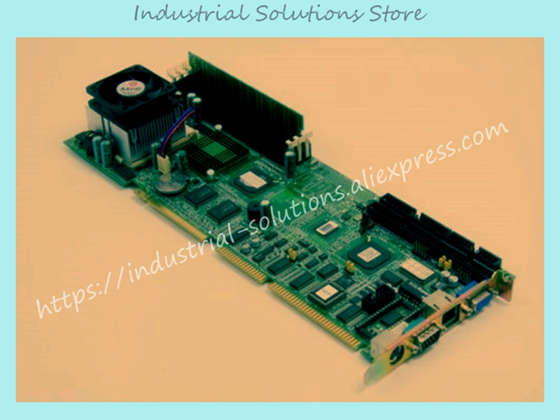 PCA-6178VE REV.A1 P3 Full Length Card Industrial Motherboard Integrated Board 100% tested perfect quality pca 6186 b1 industrial motherboard pca 6186ve only board not include cpu 100% tested perfect quality