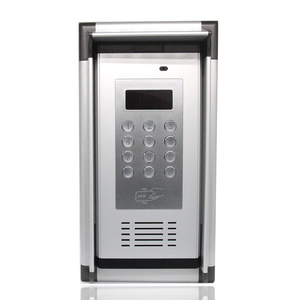 Image 2 - 3G GSM Access Control Apartment Intercom Open by Free Phone Call with RFID Card & Rainproof Hood Home factory secure System K6