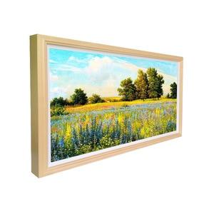 Image 4 - 32 дюймовый дисплей, цифровой рекламный плеер, настенный цифровой тотемный дисплей, деревянная цифровая фоторамка
