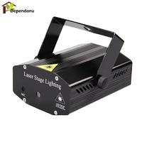 Professional LED Stage Lights R G Red Green Laser Projector Stage Lighting Effect For Disco Home