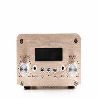 Бесплатная доставка 5 Вт/15 Вт Bluetooth Функция nio t15b 15 Вт FM PLL передатчик + Адаптеры питания + аудио кабель машины Телевизионные антенны (новая вер