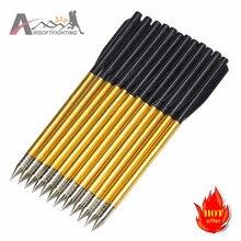 Golden Aluminum Arrows 6.2″ Length Broadheads