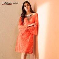 Women Dress 2016 Autumn Dresses Sexy Lace Pure Colour Long Sleeves Plus Size Women Clothing Chic