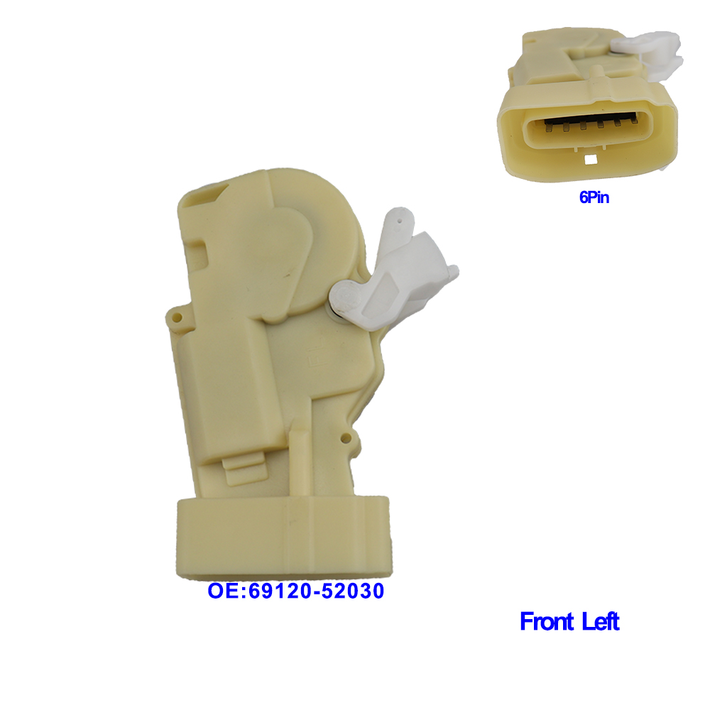 6912052030 Door Lock Actuator Front /Rear/Right/Left Side For Toyota Echo Yaris <font><b>Lexus</b></font> <font><b>RX300</b></font> 69120-52030 6911052010 6914052010 image