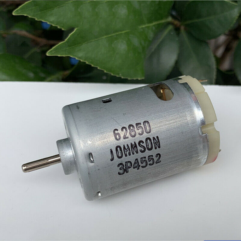 DC3V~12V 23000RPM High Speed Carbon Brush Mini 280 DC Motor Magnetic DIY Car