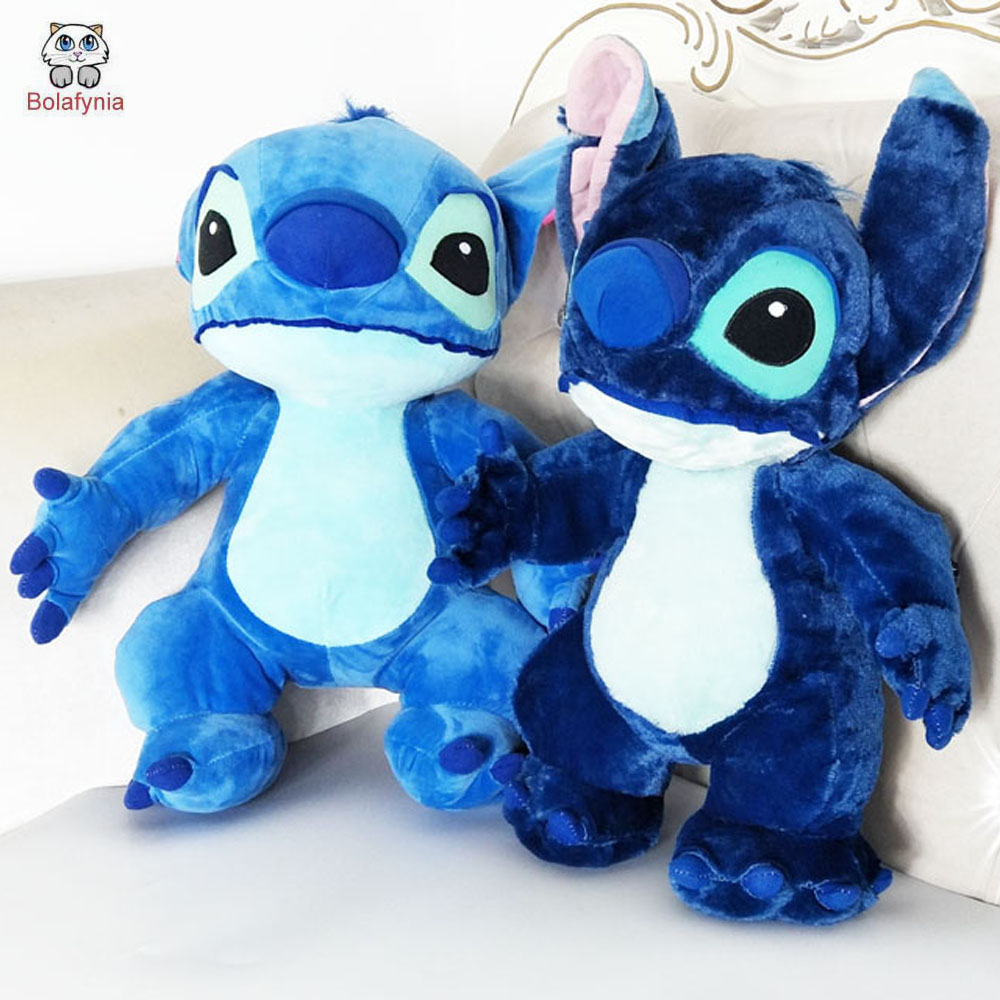 BOLAFYNIA children plush toy stitch Stuffed toys two colors for birthday Christmas gifts kid baby plush toy 60cm bolafynia children stuffed toy birthday gift doll plush toys hello kitty sitting length 38cm